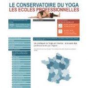 Écoles de formation professionnelle - Conservatoire du Yoga - Ecoles professionnelles à Aix en Provence et Lyon - Cours hebdomadaires et Stages de yoga